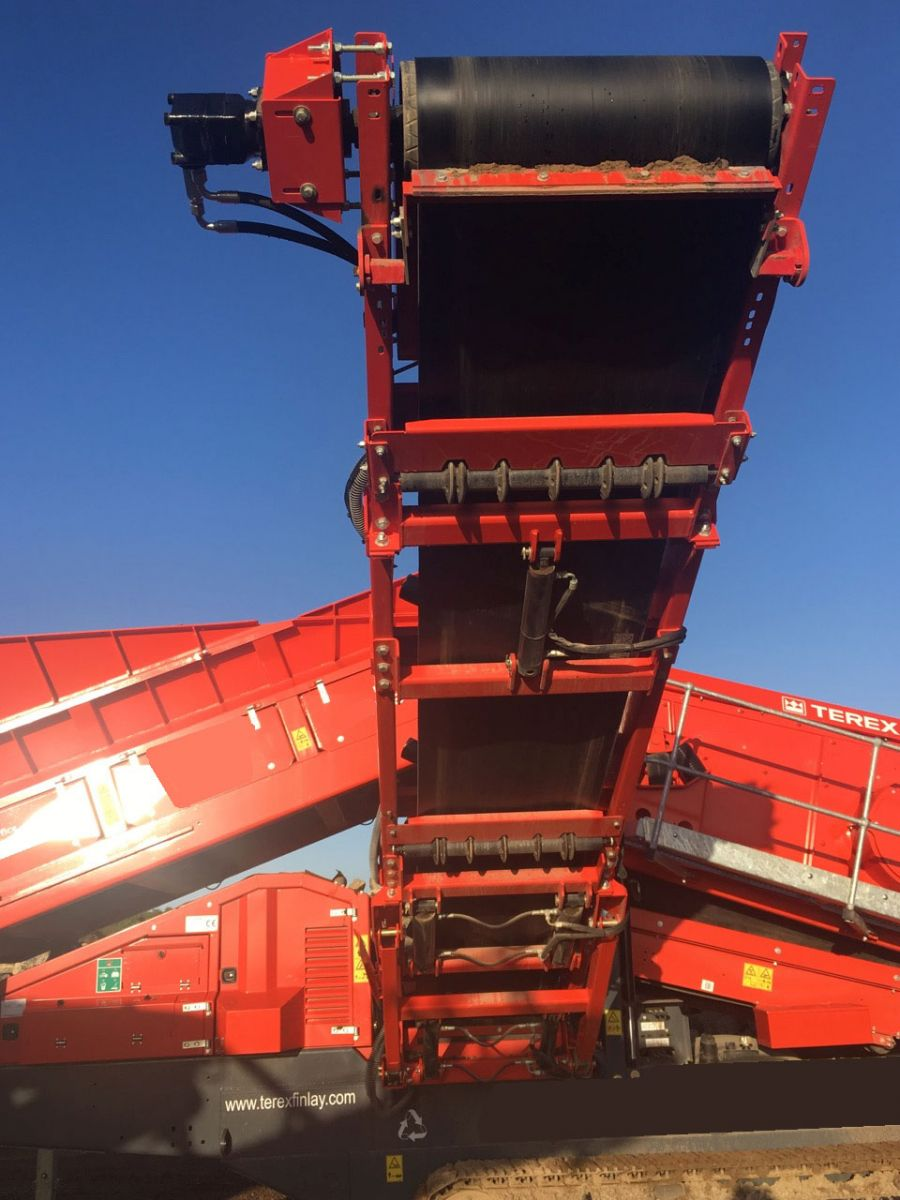 Terex Finlay 883+ Tracked Screen