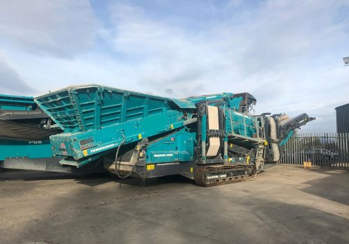 Powerscreen Warrior 1400X Tracked Screen