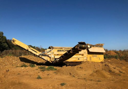 Anaconda TD516 Tracked Trommel Screen