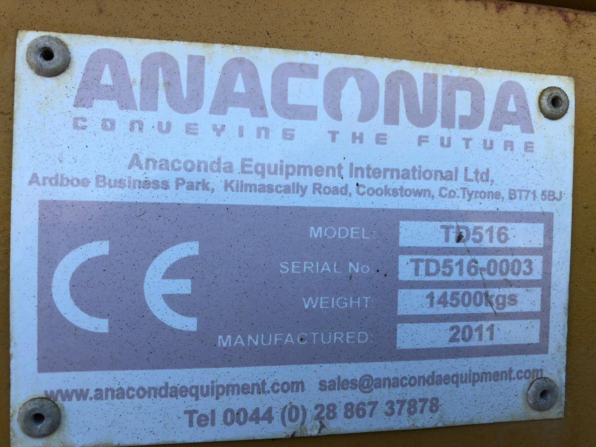 Anaconda TD516 Tracked Trommel Screen