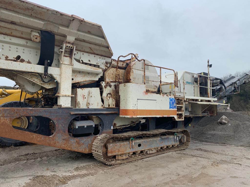 Metso LT106 Tracked Jaw Crusher - USC Equipment