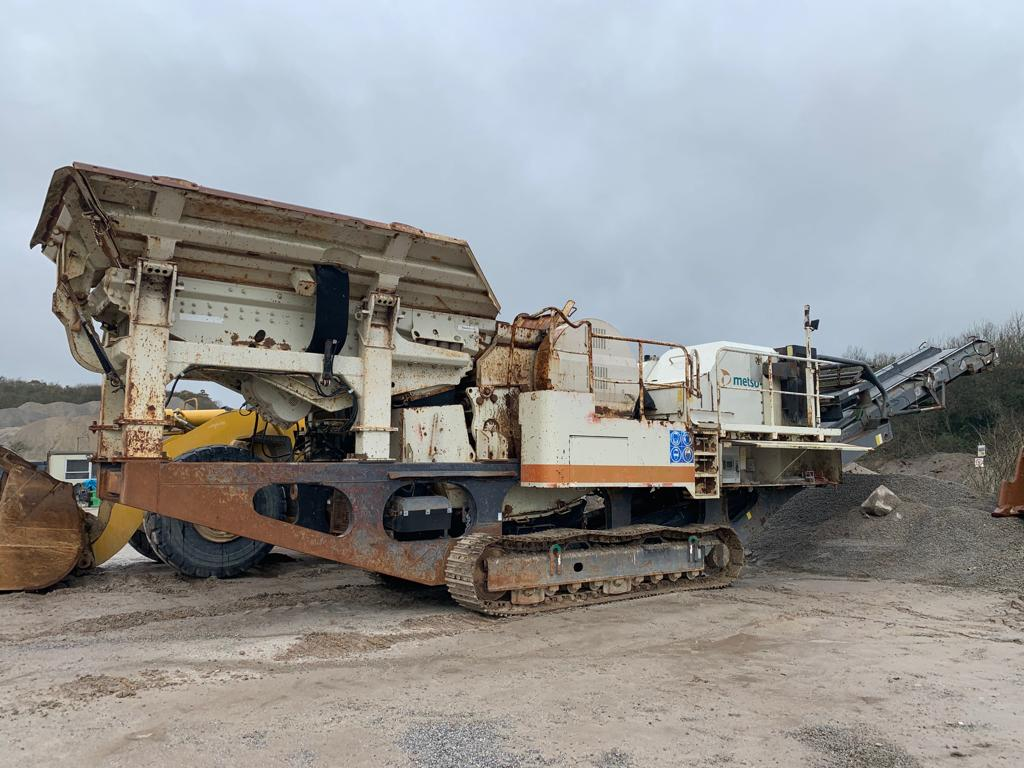 Metso LT106 Tracked Jaw Crusher - USC Equipment